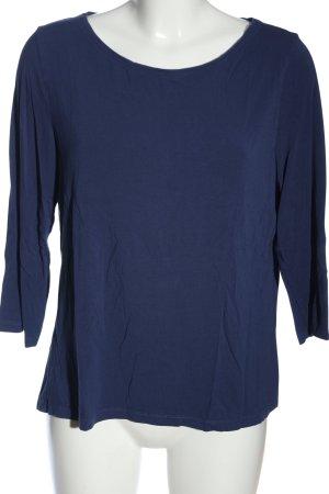 Madeleine Schlupf-Bluse blau Casual-Look