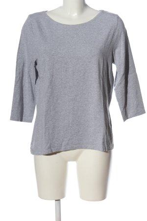 Madeleine Camicetta da notte grigio chiaro puntinato stile casual
