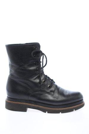 Madeleine Aanrijg laarzen zwart casual uitstraling