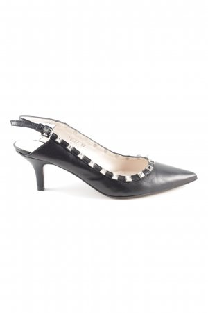 Madeleine Slingback Pumps black business style