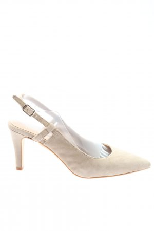 Madeleine Slingback-Pumps wollweiß Elegant