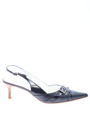 Madeleine Slingback-Pumps dunkelblau Casual-Look