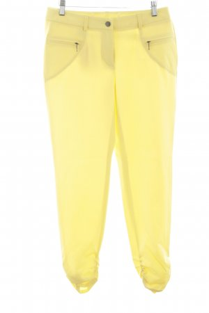 Madeleine Stoffhose blassgelb Casual-Look