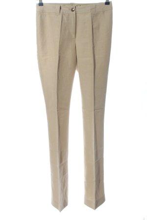 Madeleine Jersey Pants cream casual look