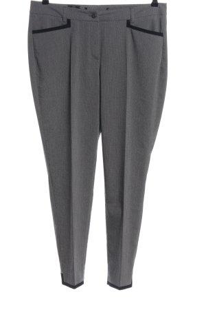 Madeleine Pantalone chino grigio Tessuto misto