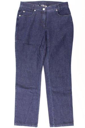 Madeleine Straight Leg Jeans blue-neon blue-dark blue-azure cotton