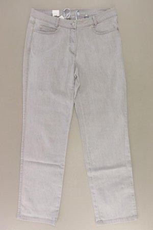 Madeleine Straight Jeans Größe Kurzgröße 19 grau aus Baumwolle