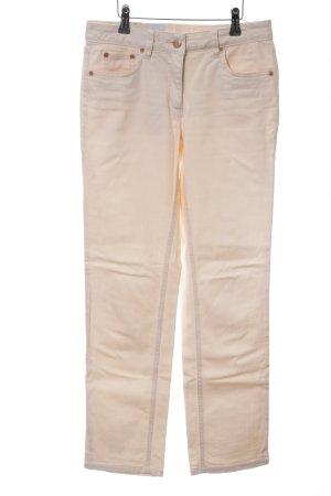 Madeleine Jeansy z prostymi nogawkami kremowy W stylu casual