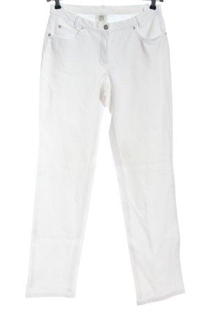 Madeleine Jeansy z prostymi nogawkami biały W stylu casual