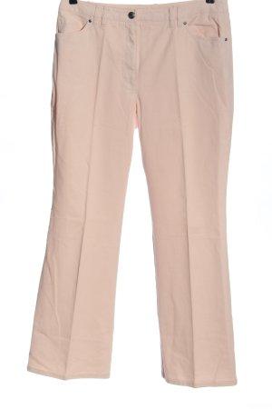 Madeleine Jeansy z prostymi nogawkami różowy W stylu casual