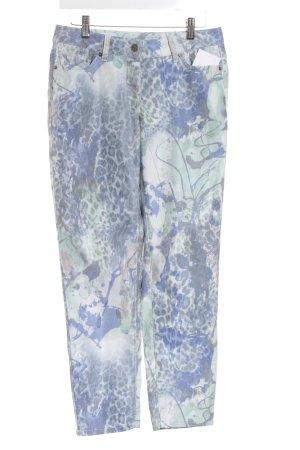 Madeleine Jeansy z prostymi nogawkami Abstrakcyjny wzór