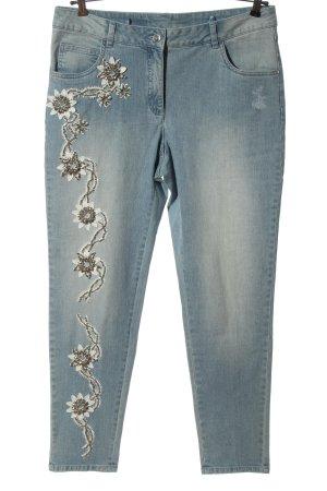Madeleine Jeansy z prostymi nogawkami niebieski W stylu casual