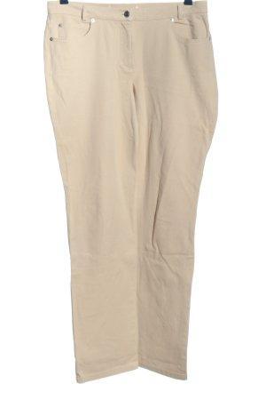 Madeleine Jeansy z prostymi nogawkami w kolorze białej wełny W stylu casual