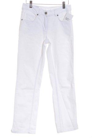 Madeleine Straight-Leg Jeans weiß Casual-Look