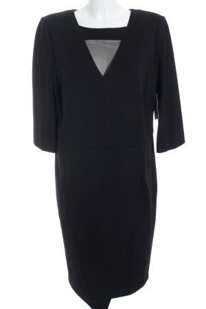 Madeleine Stretchkleid schwarz Elegant