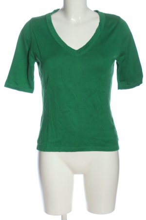 Madeleine Knitted Jumper green flecked casual look
