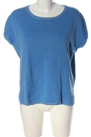 Madeleine Strickshirt blau Casual-Look