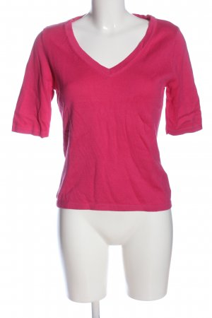 Madeleine Knitted Jumper pink flecked casual look