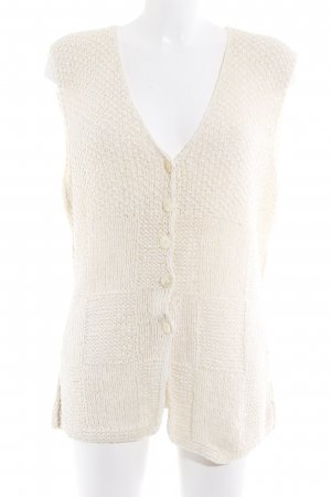 Madeleine Strickweste creme Casual-Look