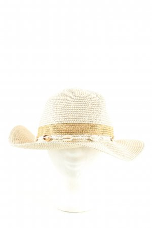 Madeleine Straw Hat cream-brown casual look