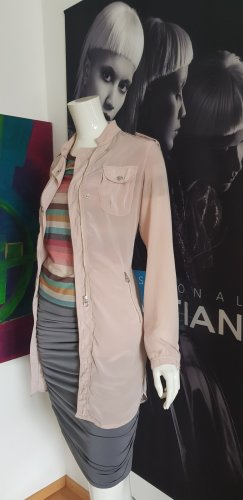 Madeleine super sexy stretch Rock und twinset longjacket nude shirt small