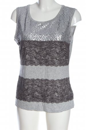 Madeleine Tank Top light grey graphic pattern casual look