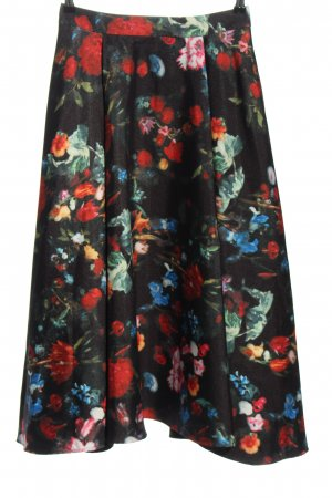 Madeleine Circle Skirt allover print elegant