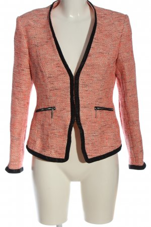 Madeleine Tweedblazer pink-schwarz meliert Casual-Look
