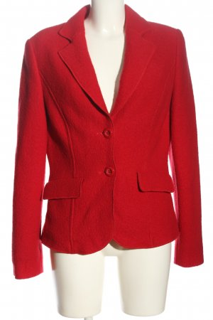 Madeleine Woll-Blazer rot Business-Look