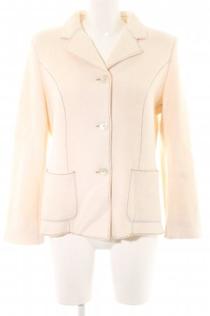 Madeleine Wool Blazer cream casual look