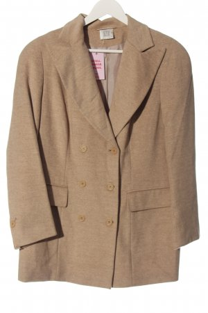 Madeleine Wool Coat brown business style