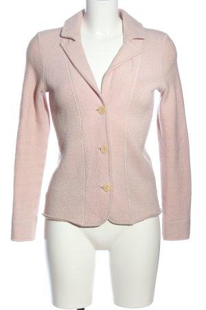 Madeleine Wollen blazer roze casual uitstraling