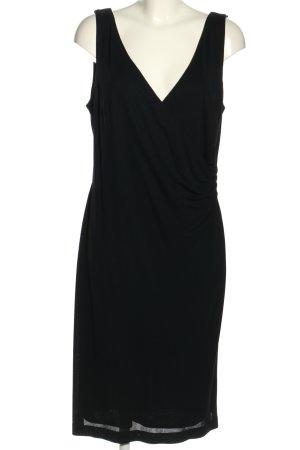MADELINE Vestido elástico negro look casual
