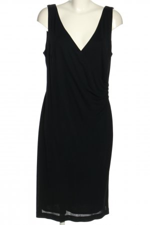 MADELINE Robe stretch noir style décontracté