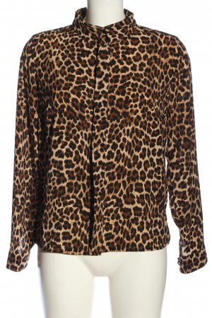 Mademoiselle YéYé Long Sleeve Shirt animal pattern casual look