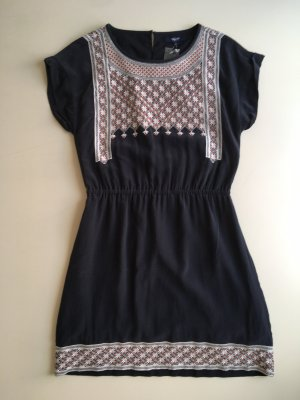 Madewell Mini Dress multicolored silk