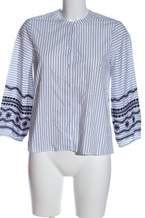 Madewell Shirt Blouse white-blue allover print casual look