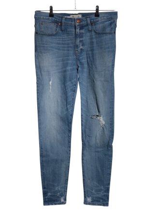 Madewell High Waist Jeans blau Casual-Look