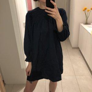 Madewell JeansKleid mit Rüschenbesatz Denim 70s Look Babydoll