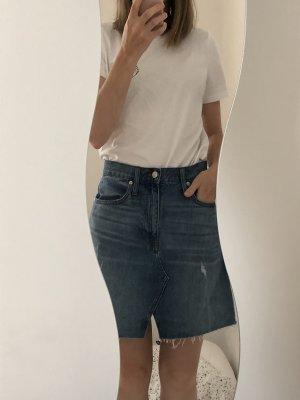 Madewell Denim Skirt blue