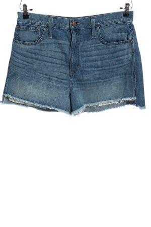 Madewell Jeansshorts blau Casual-Look