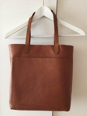 Madewell Sac fourre-tout brun cuir