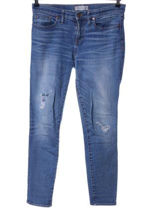 Madewell Skinny Jeans blau Casual-Look