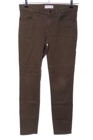 Madewell Skinny Jeans bronzefarben Casual-Look