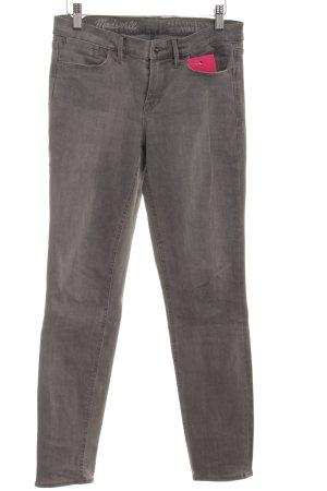 Madewell Skinny Jeans grau schlichter Stil
