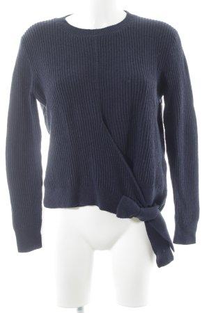 Madewell Strickpullover dunkelblau Casual-Look