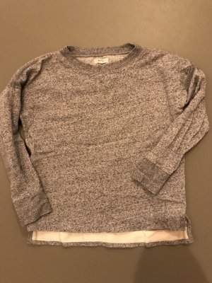 Madewell Sweatshirt grau meliert S