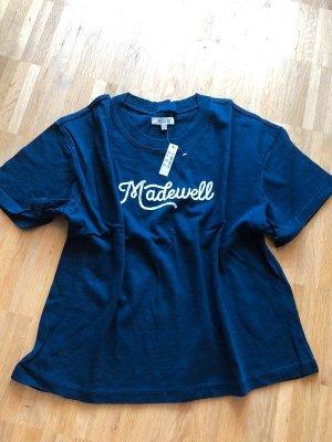 Madewell T-shirt L 40 neu dunkelblau navy
