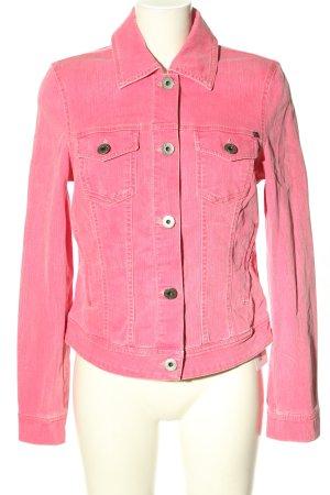 Madison Giacca denim rosa stile casual