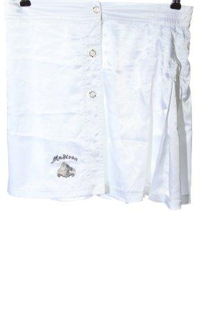 Madison Spódnica mini biały W stylu casual